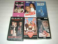 NICK NOLTE 6 PACK VHS MOVIE LOT RARE OOP HTF
