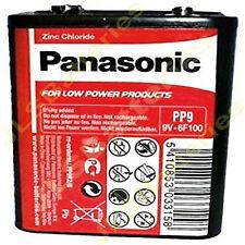 2 x Panasonic PP9 9V 6F100 Batteries