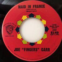 JOE FINGERS CARR Maid In France (Ooh-La-La) (7in 45rpm, Warner Bros 5149) EXC