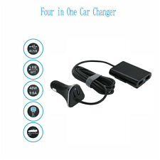 4 Ports USB Car Charger SUV for Front / Back Seat Adapter 9.6A For Phone GPS NEW