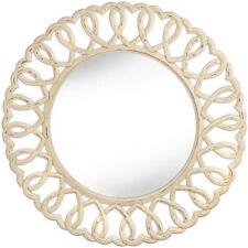 Round Wood Decorative Mirrors