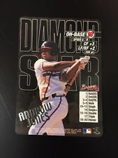 ANDRUW JONES 2000 MLB Showdown Diamond Star Error 10