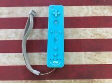Genuine OEM Blue Nintendo WiiMotion Plus Inside WiiMote! Tested! Works!