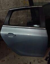 2014 VAUXHALL ASTRA J SRI 5 DOOR REAR DRIVER SIDE DOOR LIGHT BLUE