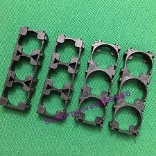 4PC triple three joint universal 18650 Li-ion 18500 LiFePO4 battery cell frame