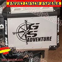 "Kit 2x pegatinas Maletas Decal Stickers Moto BMW ""GS Adventure"""