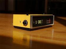 Panasonic Flip Clock Vintage Radio Eamaes Danish Space Yellow