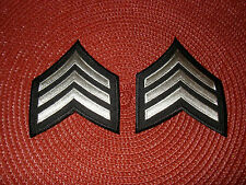 Los Angeles  Department Sergeant 1 Chevron Patches (2)
