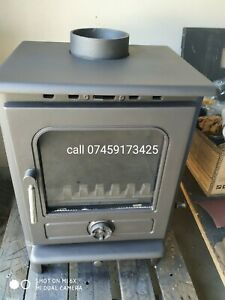 Classic Wood burning , Stove, 7kW for Green House ,Narrowboat ,Shed