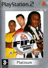 FIFA Football 2003 Platinum PS2 (PlayStation 2) - Free Postage - UK Seller