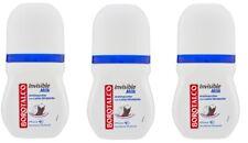 BOROTALCO ROBERTS Deo- roll-on  INVISIBLE Milk 3 x 50ml