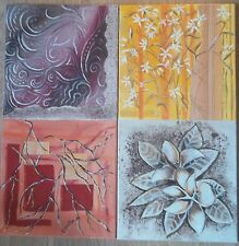 Tableau peinture huile 2 toiles art déco  position au choix,  M.Gravier certific