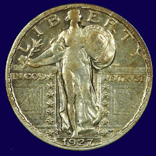 Standing Liberty Silver Quarter. 1927 S.  Extra Fine