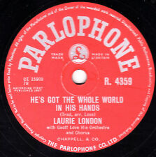 GEORGE MARTIN - LAURIE LONDON 78 HES GOT WHOLE WORLD IN HIS HANDS PARL R 4359 E+