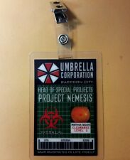 Resident Evil ID Badge-Umbrella Corp. Project Nemesis Head Of Special Projects