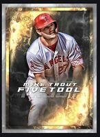2017 Topps Five Tool 5T-1 Mike Trout Los Angeles Angels Baseball Card