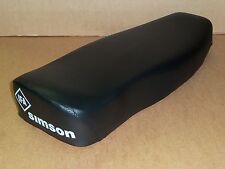 Simson Sitzbank komplett glatt schwarz für Schwalbe Kr51