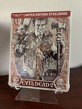 Evil Dead 2 Limited Edition Steelbook (Blu-ray/DVD/Digital) Factory Sealed