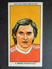 The Sun Soccercards 1978-79 - Peter Brine - Middlesbrough #565