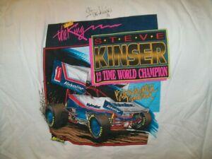 1993 Steve Kinser Valvoline #11 Vintage World of Outlaws Sprint Car T-Shirt XXXL