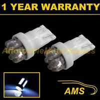 2X W5W T10 501 XENON WHITE 7 DOME LED NUMBER PLATE LIGHT BULBS HID NP100402