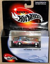1972 DODGE FUNNY CAR, CHI-TOWN HUSTLER, Hot Wheels 1:64, SHIPS FAST, NEW in Box!