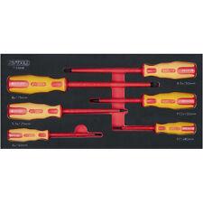 KS Tools 713.2006 SCS instertados VDE Juego de destornilladores 6 Piezas 4-8 -