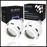 2.5'' LED Angel Eyes Halo Bixenon Lens Projector Car Motorcycle Headlight DRL