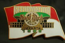 HRC Hard Rock Cafe Jakarta Reformation Flag White Peace Signs LE300