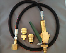 BRN NEW LPG Gas Bottle Filler Gun & Hose Kit  with Primus and Companion Adapters