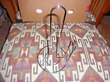 "Paper Towel Holder Chrome Excellent Condition 12"" Tall Counter Top Euro Design"