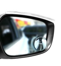 Extended Total View 2 INCH Small Blind Spot Mirror for Cars Vans & Motorcycles