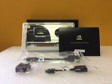 PNY / NVIDIA Quadro FX3700 512 MB SDRAM Graphics Card. New + Adapters + Software