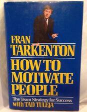 New listing Fran Tarkenton How To Motivate People Signed Hardcover Minnesota Vikings Nfl