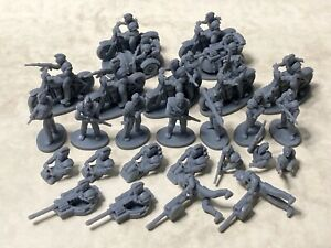 Post-apocalyptic punks in 20mm scale for Gaslands, Dark Future, Car Wars