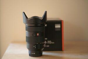Sony FE24-70mm F2.8 GM G-Master Lens