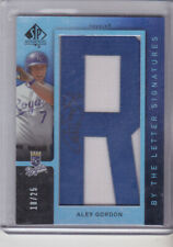 Alex Gordon 2007 Sp Authentic By the Numbers Signatures Manufactured letter with