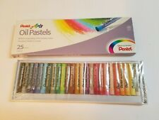 Pentel Arts Oil Pastels - 25 Pieces Unused Sealed Package