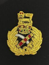 Britain/British Army Generals wire embroidered cap or beret badge