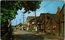 ROCKPORT, MA  Massachusetts  BEARSKIN NECK Street Scene  c1950s  Postcard