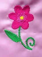 Personalised Flower School/PE/Gym/Baby/Swimming Drawstring Bag