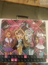 Monster High Fashion sketch & Coloring Activity set Preowned