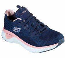 Skechers Wide Fit Navy Shoes Memory Foam Women's Sport Comfort Soft Casual 13328