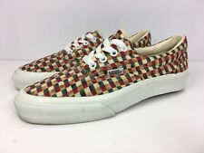 Vintage Vans ERA Skate Shoes Made in USA Women's Sz 8 Checkered Rare Nice!