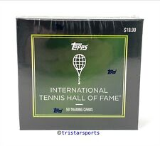 2019 Topps Tennis Hall of Fame 50 Card Box ITHF Naomi Osaka Rookie New Sealed