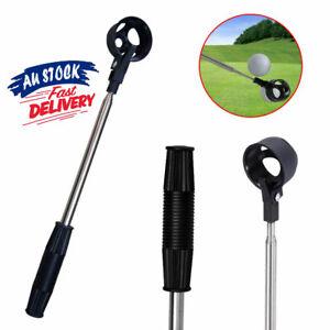 2M Telescopic Golf Ball Scoop Pick Up Retriever Stainless Steel Tool Saver Shaft