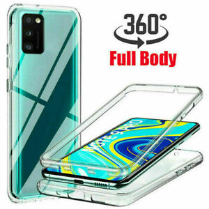 For Oppo A94 / A74 /A54 /A16S Case 360° Full Body Clear Screen Protective Cover