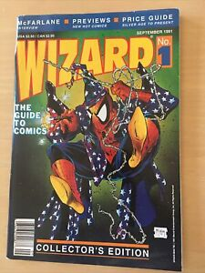 1991 WIZARD #1 The GUIDE TO COMICS Todd McFarland art and POSTER-shipped in 24hr