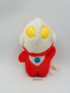 "Ultraman B0605 Banpresto 6"" Plush 1992 Stuffed Toy Doll Japan"