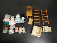 Calico critters mixed lot